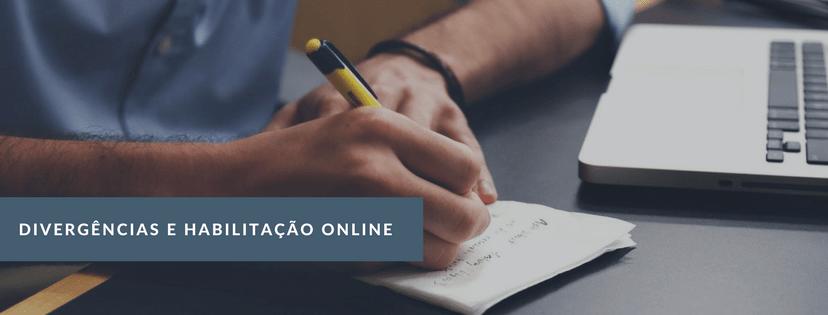 Divergências e Habilitações Online - Von Saltiel